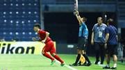 Đình Trọng trở lại lợi hại, gia cố hàng thủ tránh bàn thua trước Jordan