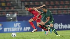 Hòa Bahrain 1-1, U23 Australia đứng đầu bảng A