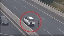 Đỗ ôtô trên cao tốc chụp ảnh, nữ tài xế bị phạt 7 triệu đồng