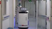 Bệnh viện Trung Quốc sử dụng robot giúp bệnh nhân điều trị corona