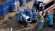 Bệnh viện dã chiến Vũ Hán đón bệnh nhân, xe cấp cứu nối dài trên phố