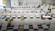 Vũ Hán gấp rút chuyển phòng gym, triển lãm thành bệnh viện dã chiến