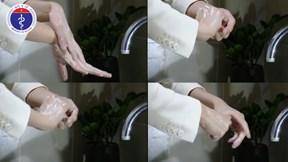 Rửa tay bằng xà phòng để phòng lây nhiễm nCoV-2019