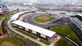 Toàn cảnh đường đua F1 Việt Nam trước ngày bàn giao