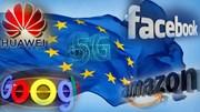EU kiềm chế các 'gã khổng lồ' công nghệ Mỹ, Pháp để Huawei tham gia mạng 5G
