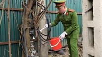Công an xóa bỏ điểm tiêm chích ma túy trước cổng viện Bạch Mai