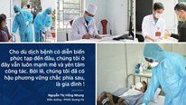 Lời nhắn gửi xúc động đến các bác sĩ ở tâm dịch Covid-19