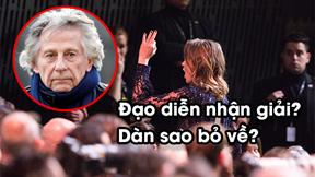Dàn sao bỏ về khi đạo diễn bị tố ấu dâm thắng giải César