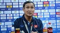 HLV Mai Đức Chung: 'Chúng ta đã đạt mục tiêu ghi bàn vào lưới Australia'