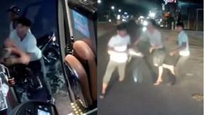Đồng Nai: Hai nam thanh niên chặn xe khách, đánh lơ xe và đập vỡ kính