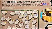 10.000 ly cafe tiếp sức 'chiến binh áo trắng'