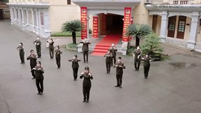 Vũ điệu 'Ghen Cô Vy' của Công an tỉnh Hải Dương