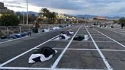 Giúp người vô gia cư giữ an toàn 2m, giới chức Las Vegas vẫn bị chỉ trích