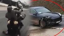3 thanh niên trổ tài bốc đầu xe máy và cái kết 'đắng ngắt'