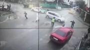 Say rượu, tài xế lao thẳng xe vào chốt kiểm dịch, 1 cánh sát bị gãy chân