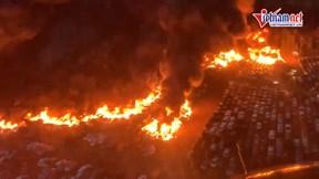 Cháy lớn tại sân bay Florida, thiêu rụi hơn 3.500 xe ô tô