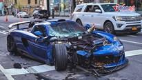 Siêu xe triệu đô hàng hiếm Gemballa Mirage GT 'tan nát' sau tai nạn