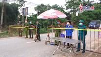 9 chốt chặn người ra vào thôn 11.000 dân, nơi BN 243 cư trú
