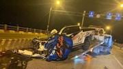 Tai nạn trên cầu Vĩnh Tuy, 1 người chết, 1 người trọng thương