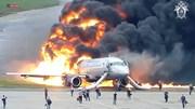 Nga hé lộ video vụ máy bay hạ cánh bốc cháy nghi ngút khiến 41 người chết