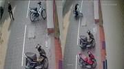 Tên trộm bẻ khóa lấy xe máy ở Hà Nội chỉ mất 5 giây