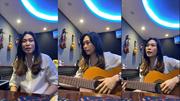 Mỹ Tâm gây sốt vì chơi guitar, hát live loạt hit triệu view của đàn em