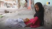 Hình ảnh thương tâm của trẻ em Afghanistan trong đại dịch Covid-19