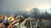 Hiện trường ngổn ngang vụ cháy 1.000 m2 nhà xưởng ở Hà Nội