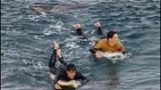 Cá mập bám đuôi người lướt ván, bị ăn đấm mới chịu bỏ cuộc