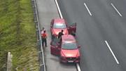 Xử phạt 2 tài xế dừng đỗ nguy hiểm trên cao tốc Hà Nội - Hải Phòng