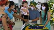 Covid-19: Brazil có kỷ lục ca nhiễm mới, liên tục 'mất' Bộ trưởng Y tế