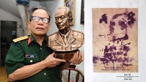 Bức huyết họa vô giá về Bác Hồ của họa sĩ Lê Duy Ứng