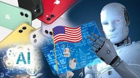 Mỹ dẫn đầu thế giới về AI, lợi nhuận nhà máy iPhone giảm 'sốc'