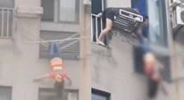 Say xỉn, thiếu nữ suýt chết vì leo qua cửa sổ chung cư