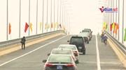 Ngắm cầu nghìn tỷ vừa được thông xe ven biển Nam Định