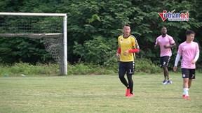 Thủ môn Tấn Trường tiết lộ cơ duyên đến Hà Nội FC