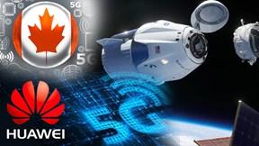 Canada 'hất cẳng' Huawei khỏi dự án 5G, tàu vũ trụ SpaceX 'cập bến' ISS