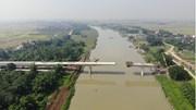Cây cầu 110 tỷ vượt sông Cầu nối Bắc Giang - Hà Nội sắp hoàn thành