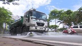 Chi 114 tỉ đồng để rửa đường, Hà Nội thực hiện thế nào?