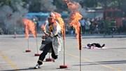 Xem những màn dập lửa 'thần tốc' của Cảnh sát PCCC Hà Nội