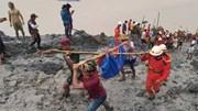Số người thiệt mạng trong vụ sạt lở đất ở Myanmar tăng lên chóng mặt