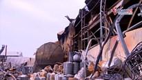 Phát sinh hơn 70 tấn chất thải vụ cháy kho hoá chất ở Long Biên