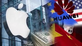 Apple đối mặt án phạt 26 tỷ USD, Mỹ trừng phạt thêm 11 công ty Trung Quốc
