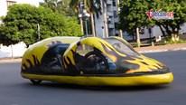 Sinh viên Hà Nội chế tạo xe siêu tiết kiệm, đi 400km chỉ tốn 1 lít xăng