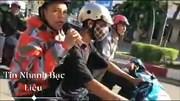 Nhóm thanh niên Bạc Liêu chạy xe dàn hàng ngang, bốc đầu, đọc rap inh ỏi