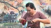 Người họa sỹ 40 năm vẽ tranh bằng kéo cắt vải