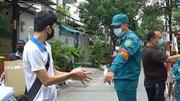 Phong tỏa đường số 10: Dân tiếp tế thực phẩm, hàng quán ngừng kinh doanh
