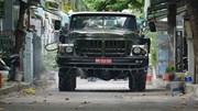 Dàn xe của Quân khu 5 khử khuẩn toàn bộ tuyến đường quận Sơn Trà