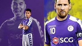 Trước tin đồn Messi về Hà Nội FC thi đấu, Phạm Đức Huy nói gì?