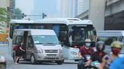 Chiêu trò né CSGT trên cung đường 'nóng' đón, trả khách sai quy định